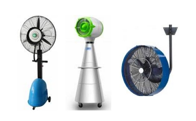 Misting fan Rental, Outdoor mist fan rental, Dubai Aubi Dhbai , UAE